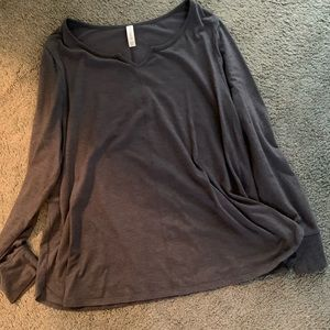 Lane Bryant/Cacique Long Sleeve Top
